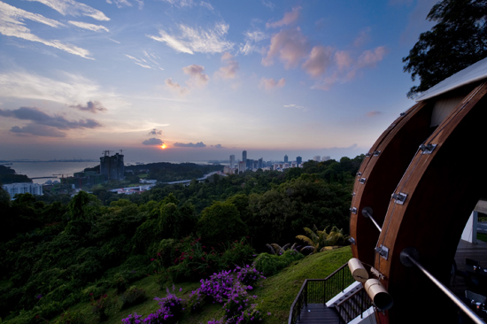 The Jewel Box at Mount Faber