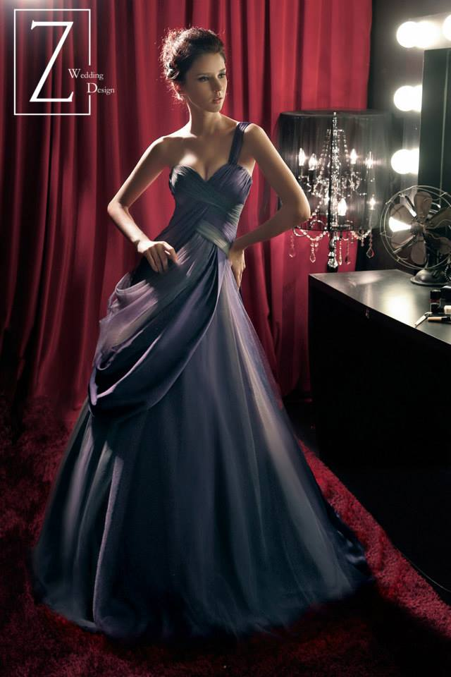 purple-silk-assymetrical-gown