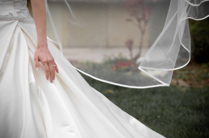 bride in the wind