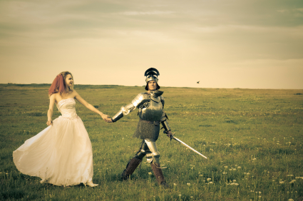 Bride and Knight